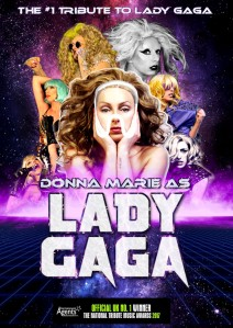 Donna Marie as Lady Gaga